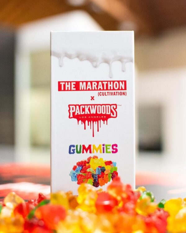 Packwoods X Marathon Gummies